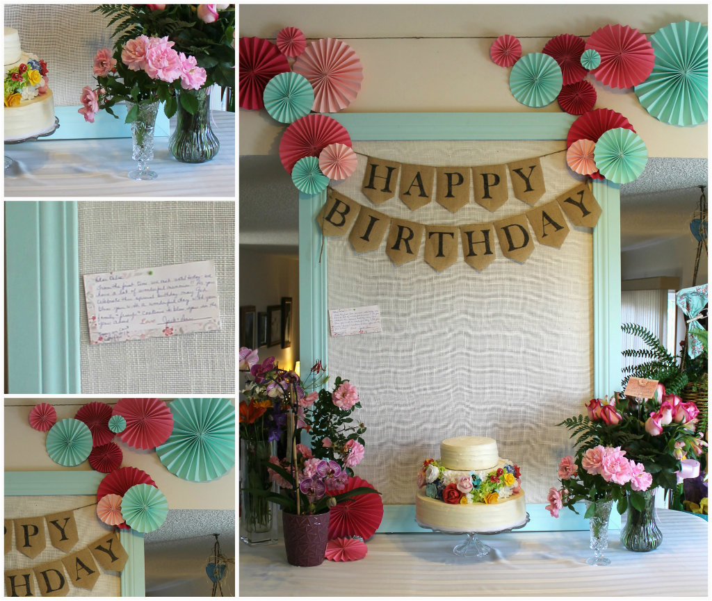 60th Birthday Decorations For Mom My 39 S Party Joyfully Home
