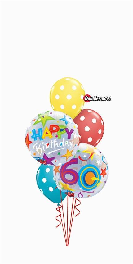 60th birthday bouquet balloons vancouver jc balloon studio