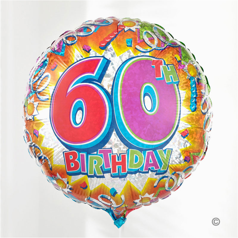 gift delivery 60th birthday balloon isle of wight flowers