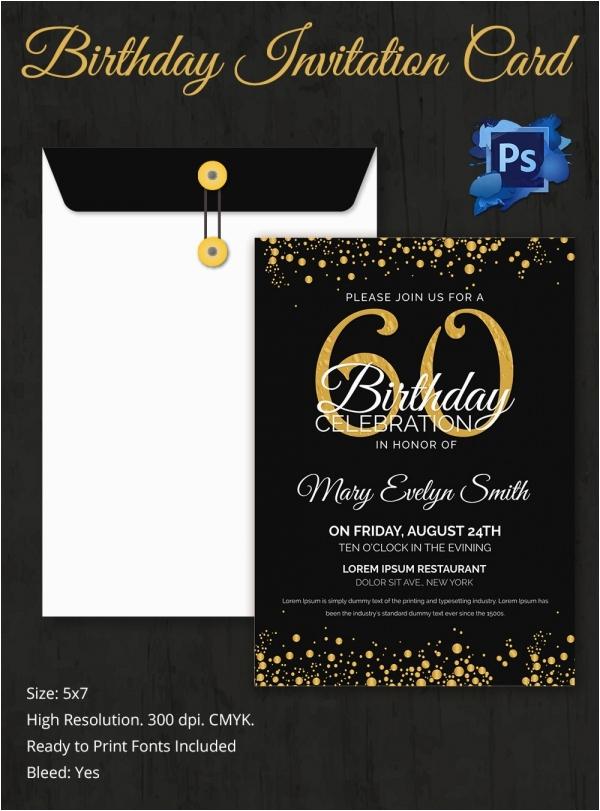 birthday invitation template 32 free word pdf psd ai