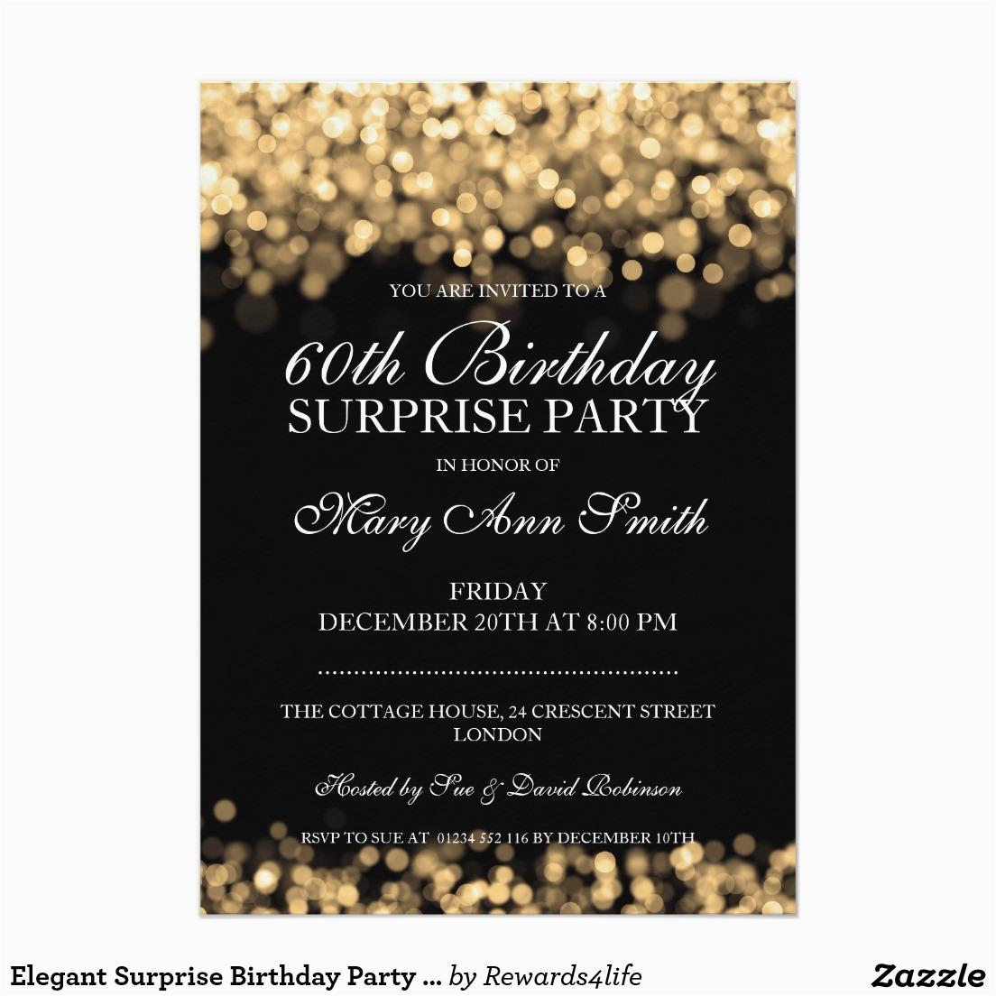60th Birthday Invite Ideas Surprise Party Invitations Dolanpedia