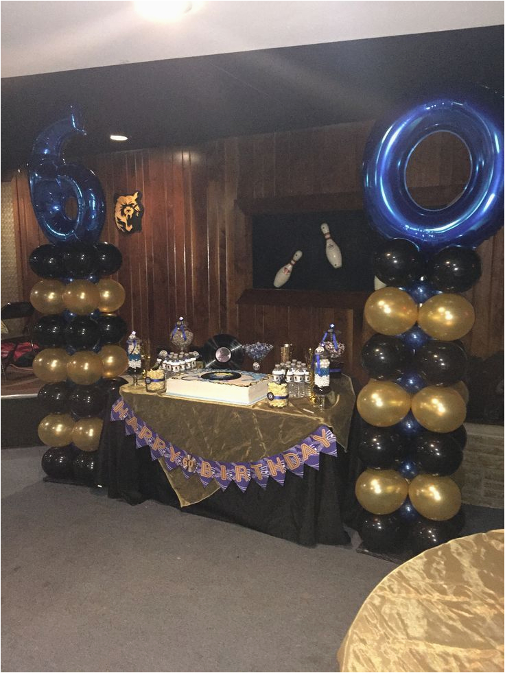 96 60th Birthday Decorations For Man 60th Birthday Party
