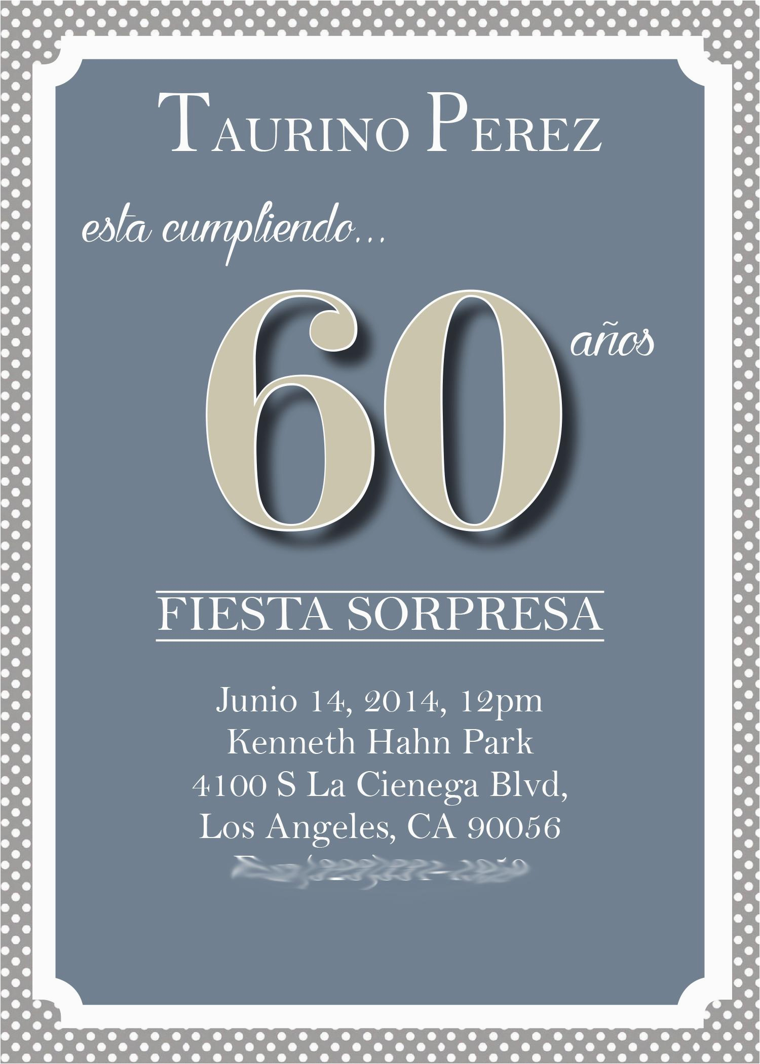 60th Birthday Wording For Invitations Party Templates