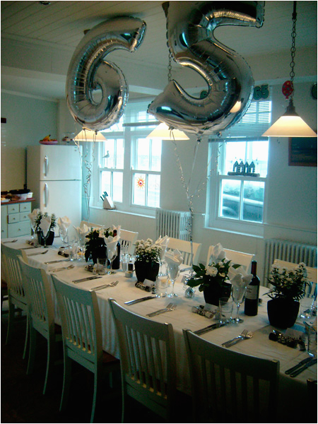 65th Birthday Decoration Ideas Beach House Mundesley North Norfolk Party