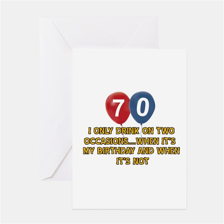 70 year old birthday greeting cards