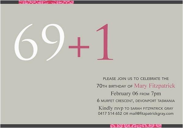 70 Birthday Card Sayings 70th Birthday Invitation 365greetings Com