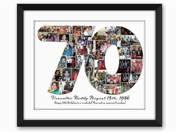 70th birthday gift ideas for herwritings and papers