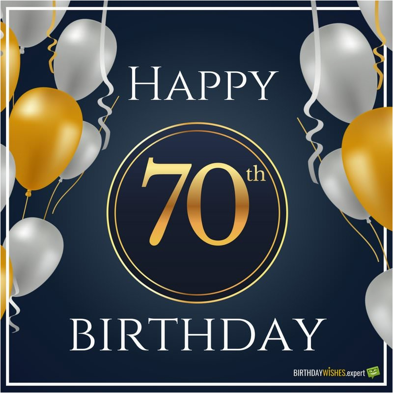 70 Year Old Birthday Cards 70th Wishes Messages For Olds