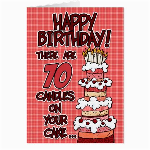 70 Year Old Birthday Cards Happy Years Card Zazzle
