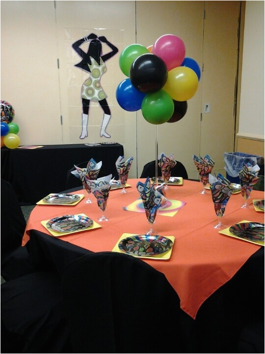 70s party decorations on pinterest