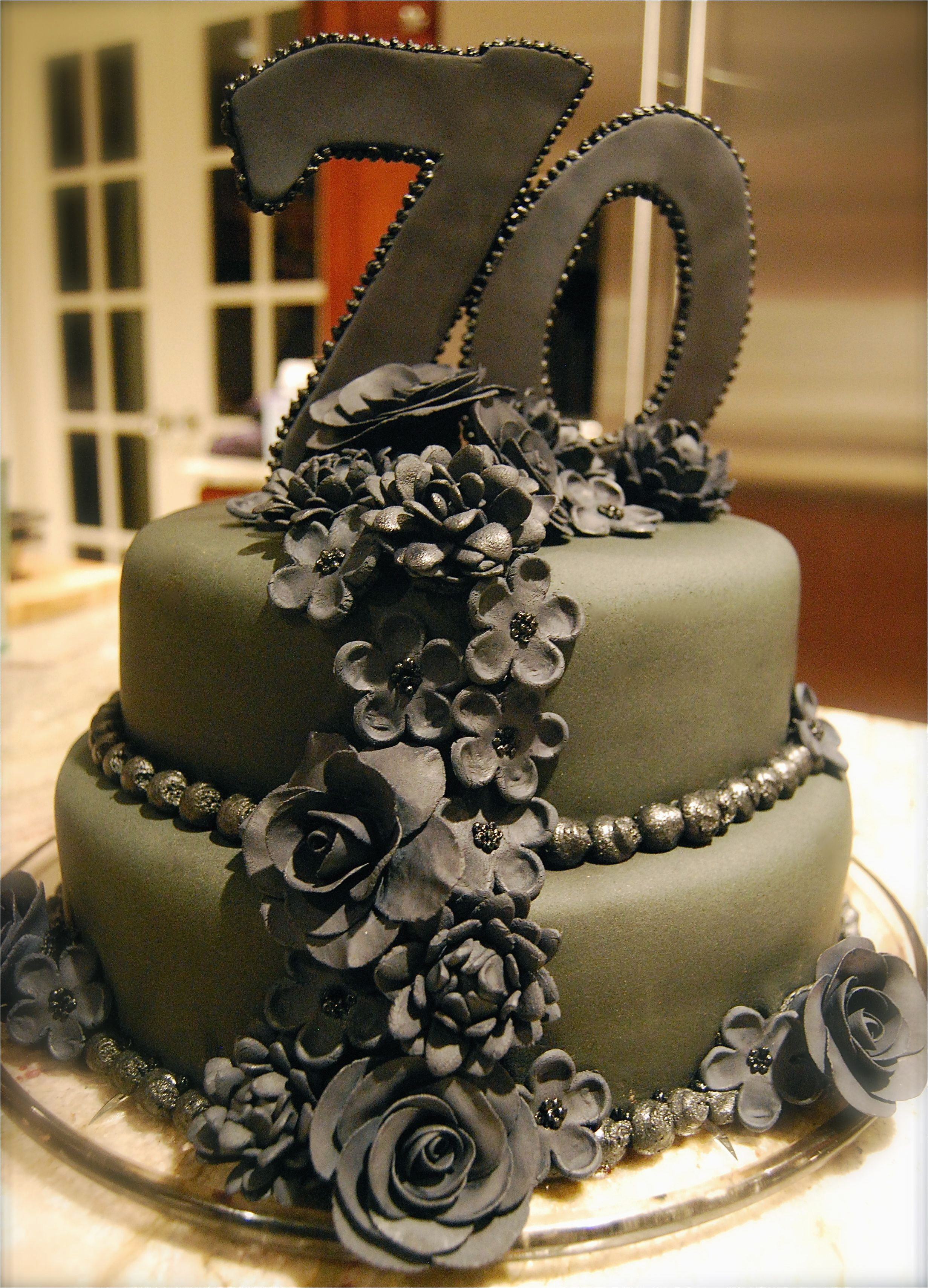 70th Birthday Cake Decorations Cakes Ideas And Designs