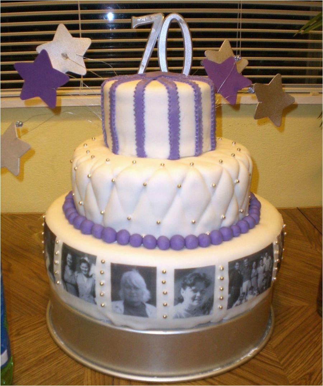 70th Birthday Cake Decorations Grandma 39 S Cakecentral Com