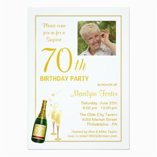 surprise 70th birthday invitations