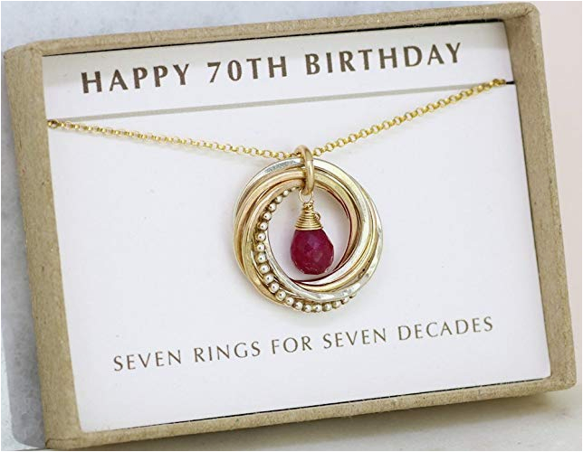 70th Birthday Gift Ideas For Her Gifts Ftempo
