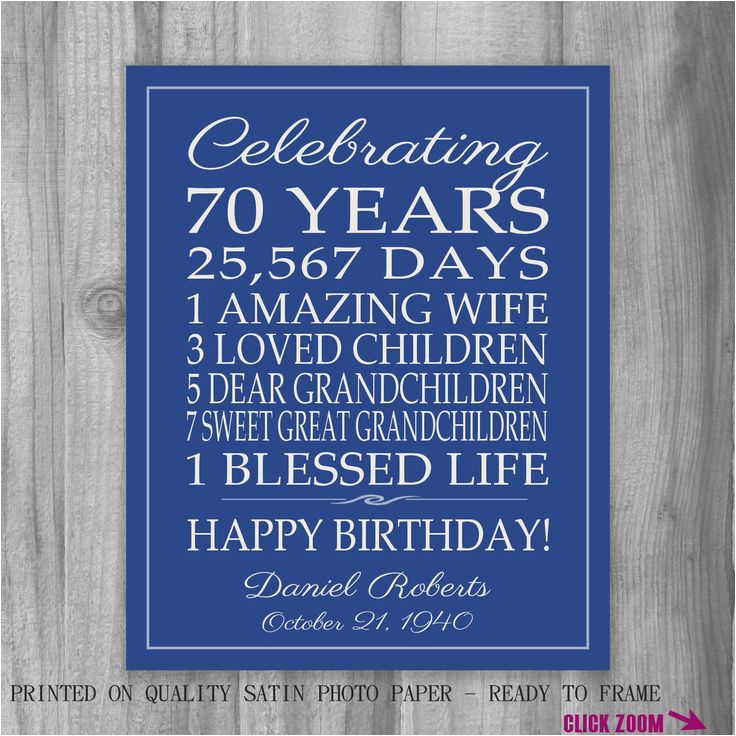 70th Birthday Invitations For Dad 1000 Ideas About Gifts On Pinterest 30th