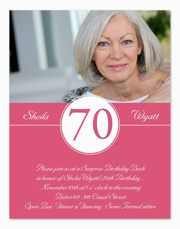 70th Birthday Invitations Wording Samples 15 70th Birthday