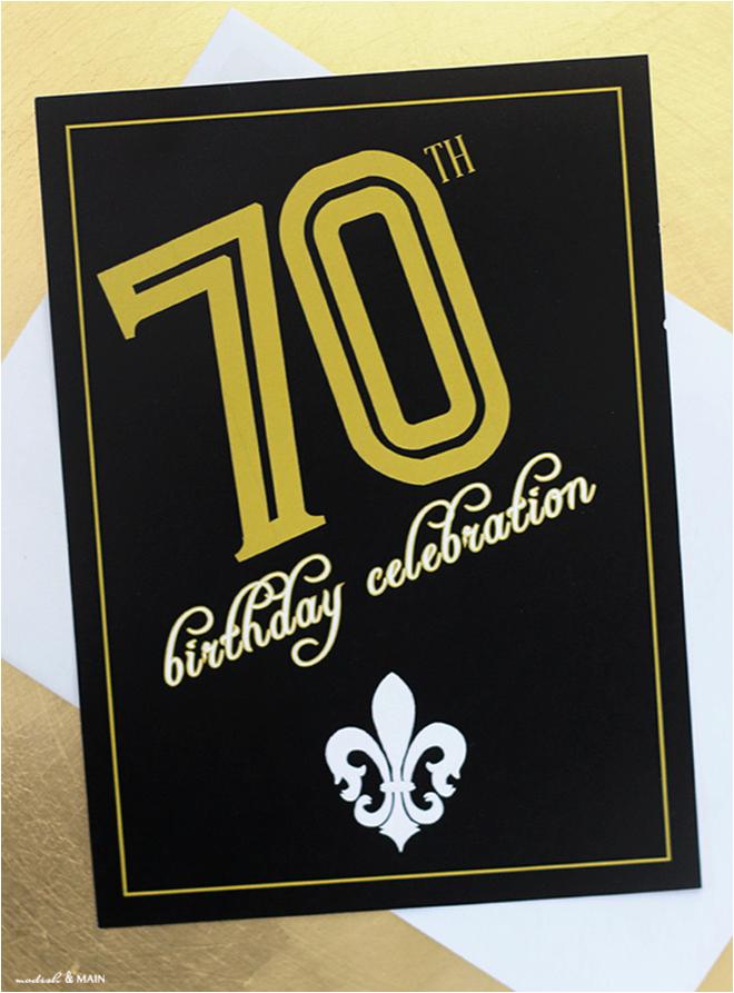 designing birthday party invites modish main