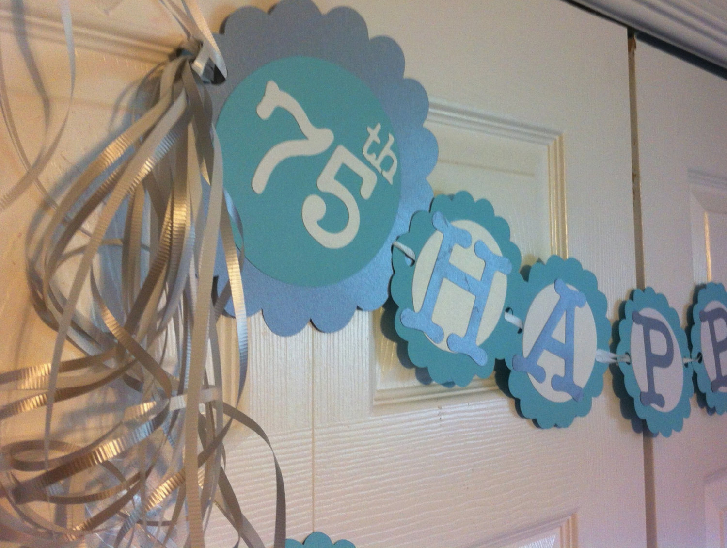 75 Birthday Party Decorations 75th Birthday Decorations Personalization Available