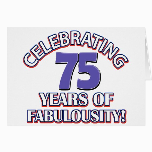 75 Year Old Birthday Cards 75th Invitations Cake Ideas And Designs