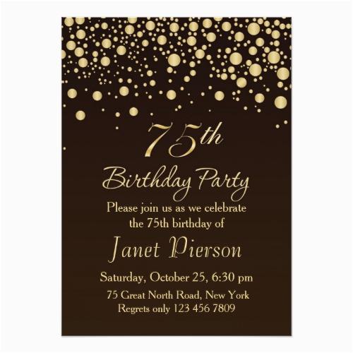 75th Birthday Card Ideas Birthdaybuzz