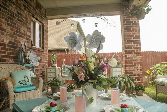 75th Birthday Decorations Ideas Kara 39 S Party Seventy Fifth Garden