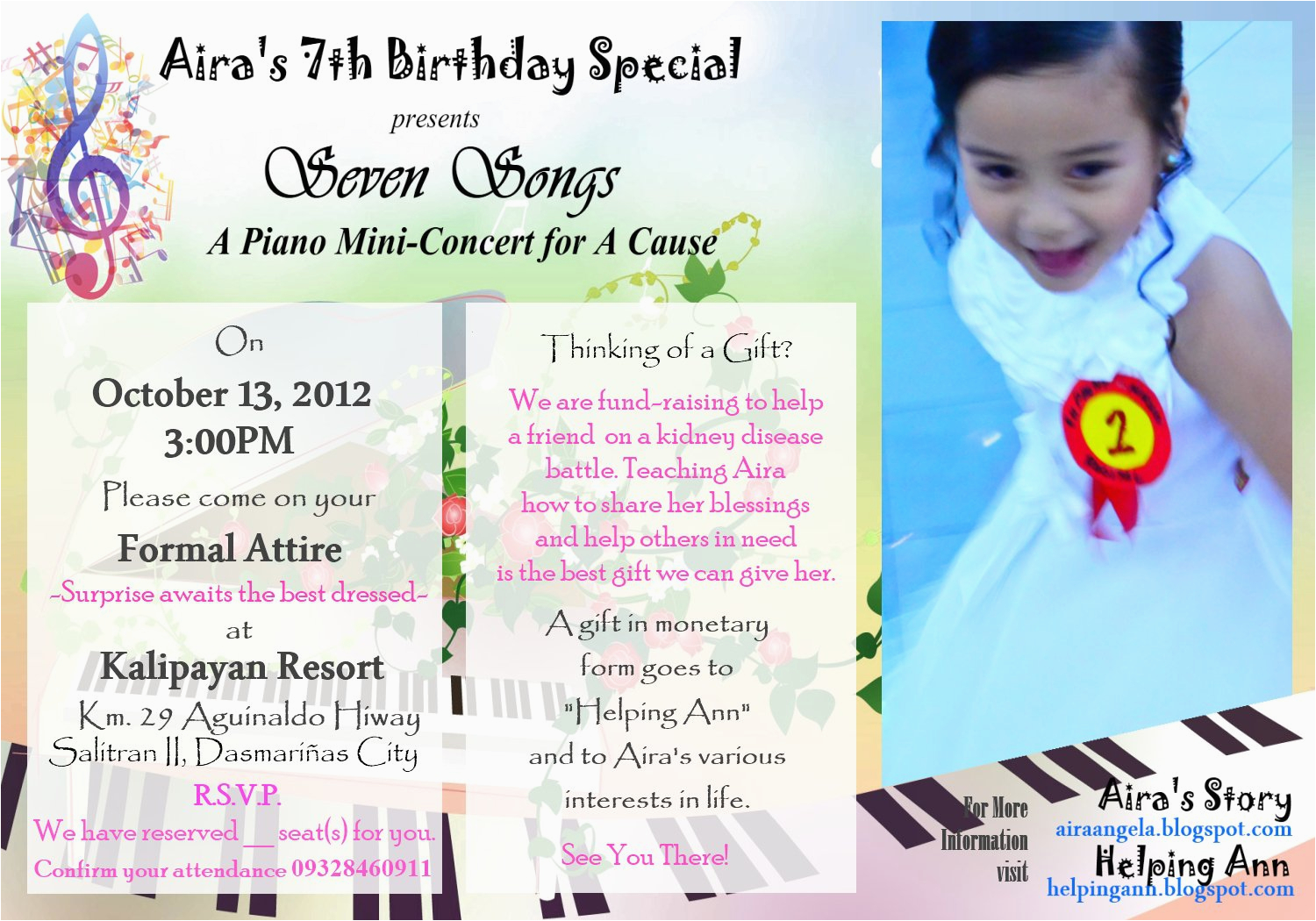 7th birthday invitation message best party ideas