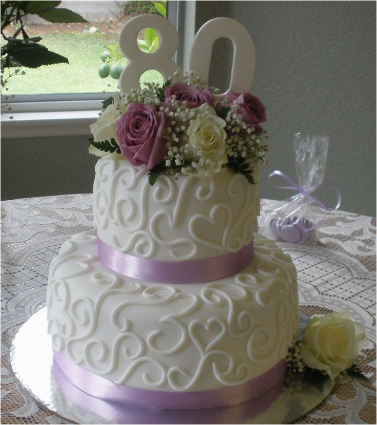 80 Year Old Birthday Party Decorations Cake Ideas A