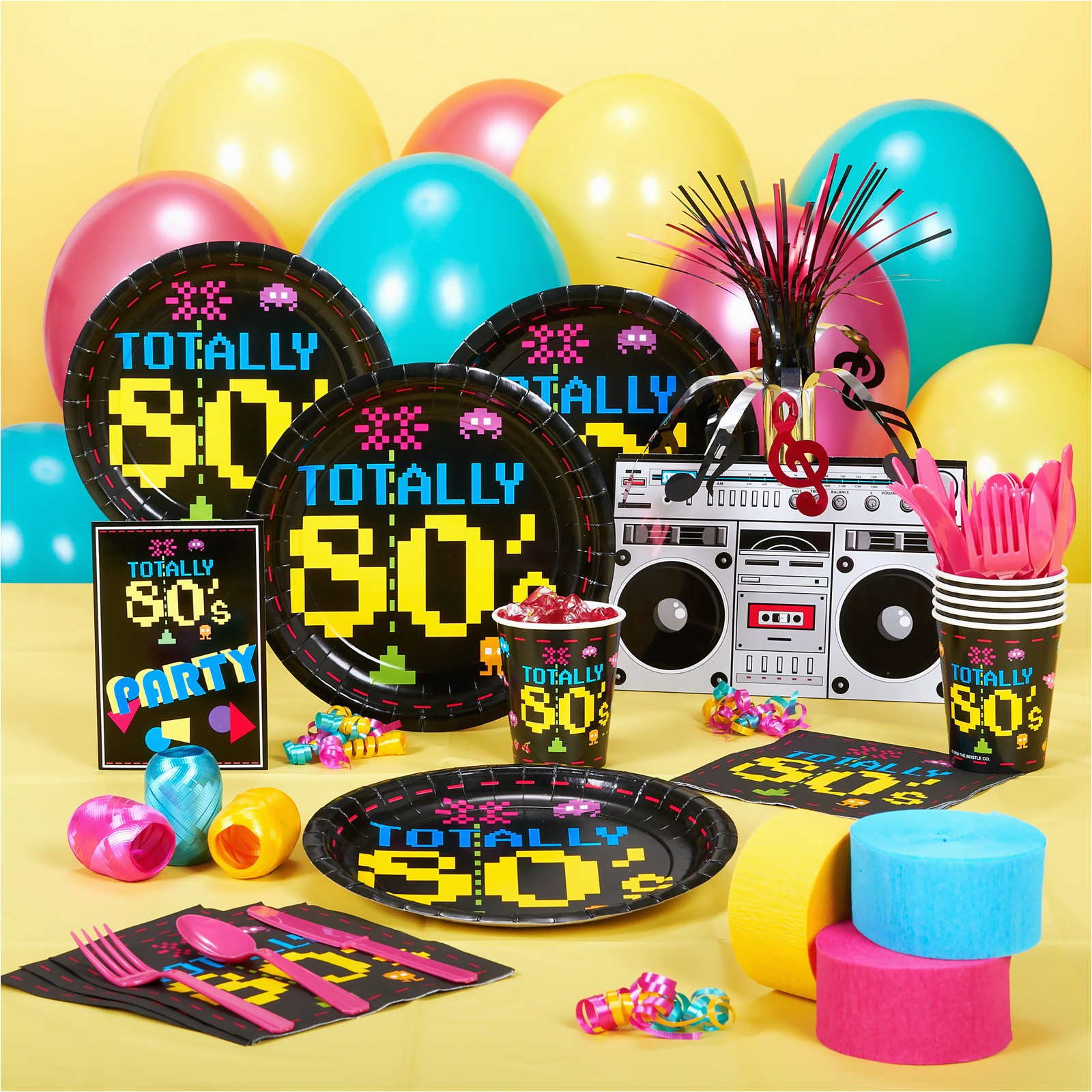 80s Birthday Decorations Totally 80 S Special Events Party Supply Store In Ak