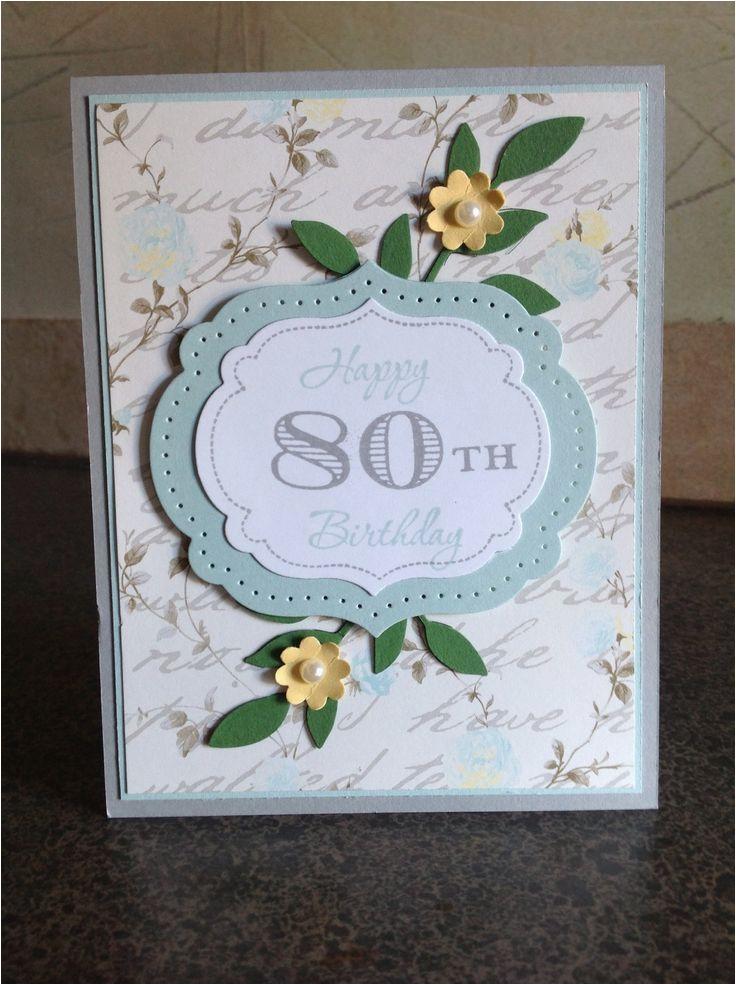 80th birthday card card ideas gifts pinterest