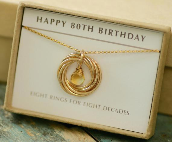 80th Birthday Gift Ideas For Her Mother November