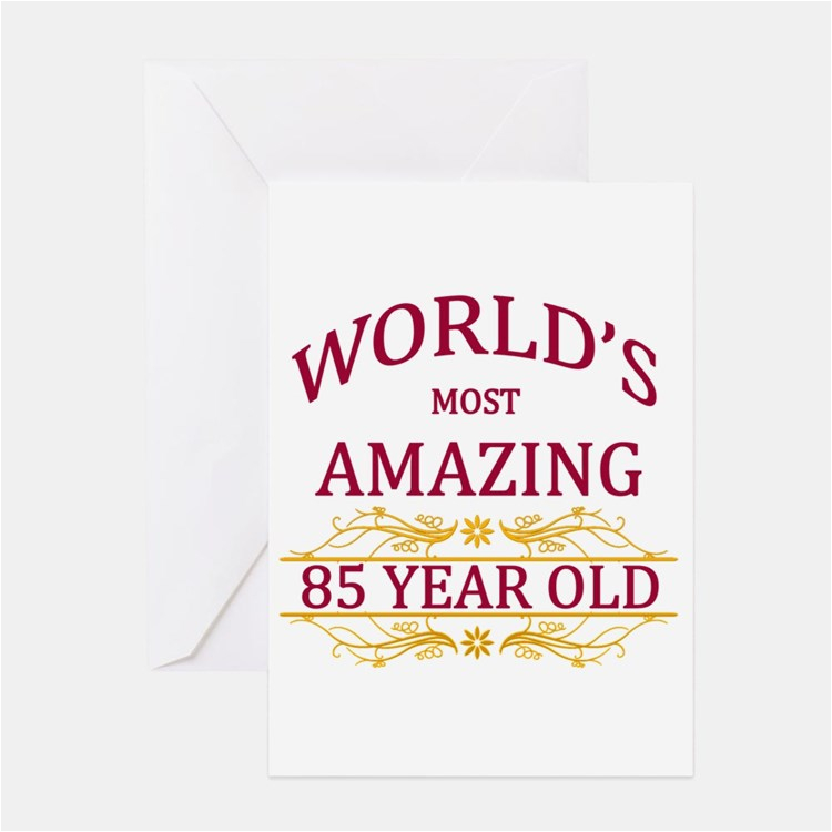 85 years old greeting cards