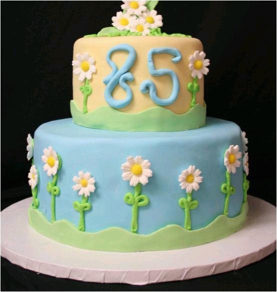 85th Birthday Decorations Cake Happy