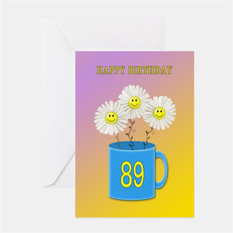 89th birthday greeting cards