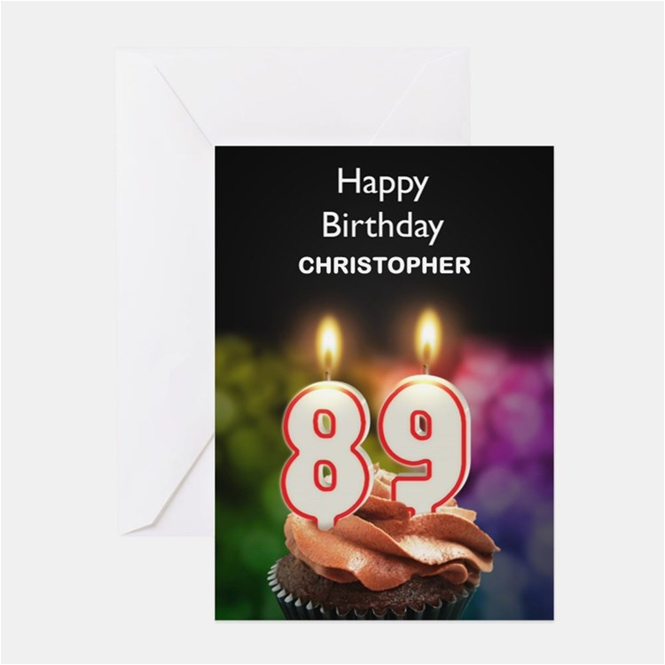 89th Birthday Card Happy 89th Birthday Happy 89th Birthday Greeting Cards
