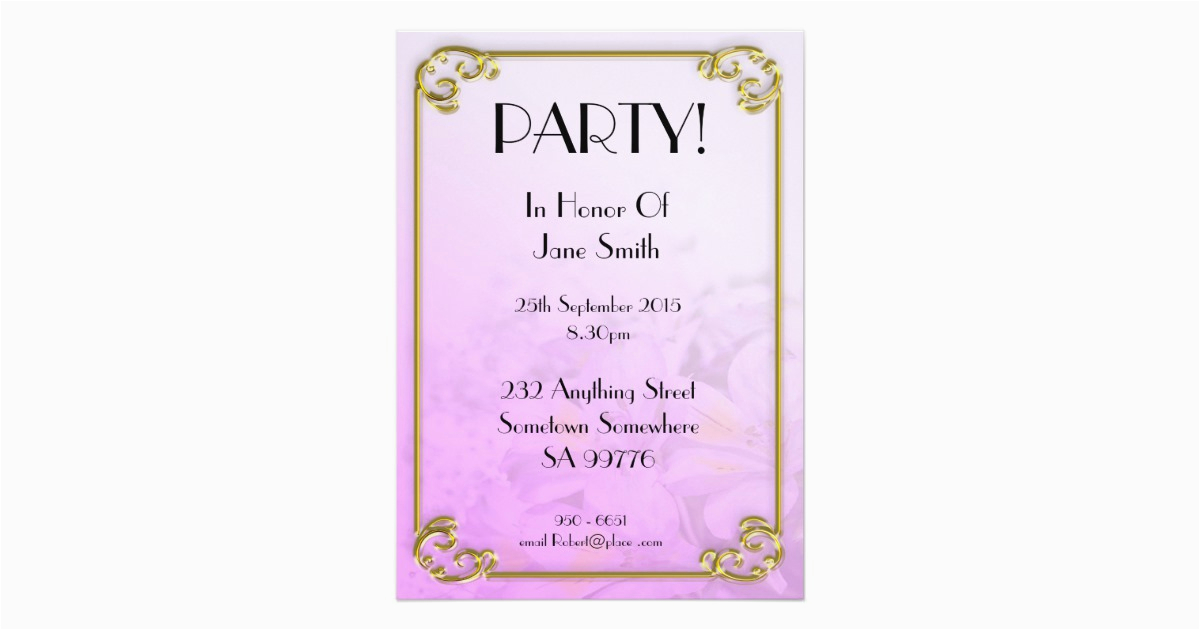 90 Year Old Birthday Invitations Party Invitation Years Zazzle