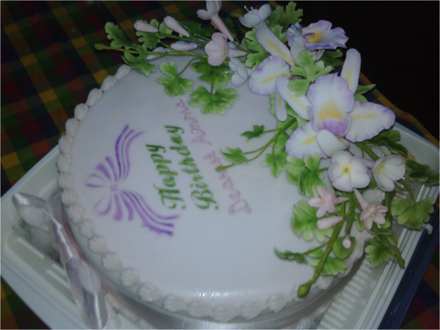 90th birthday cake 1