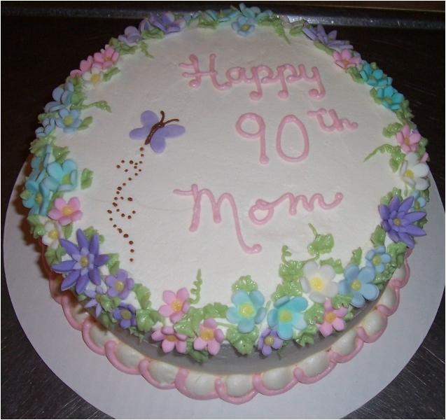 90th Birthday 1 Cake Decorating