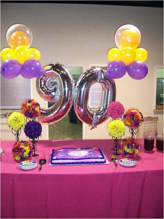 90th Birthday Decorations Discount Party Supplies Centerpieces Beyon Org