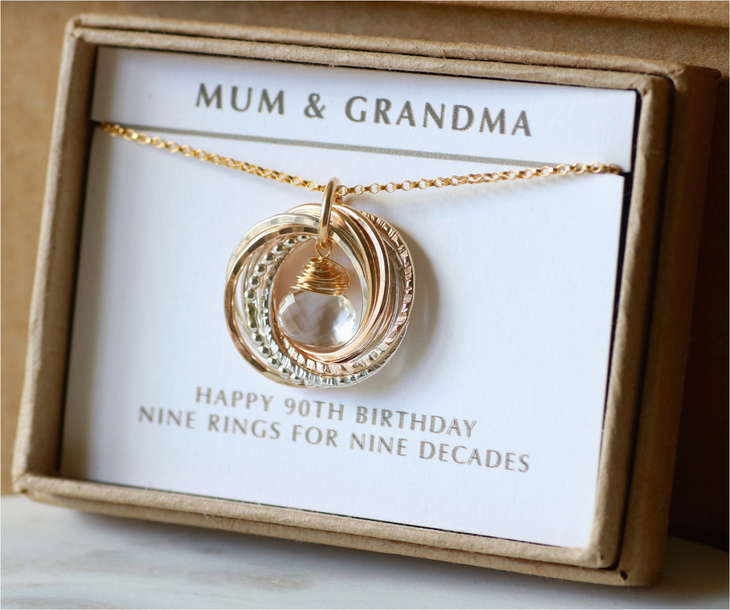 90th Birthday Gifts For Her Gift Idea April Grandmother