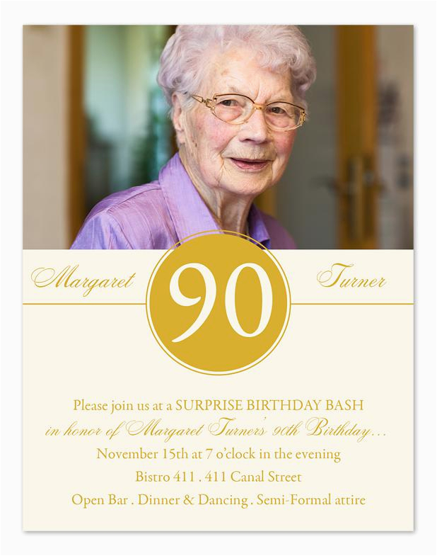 90th Birthday Invitations Wording Samples 15 Tips Sample Templates