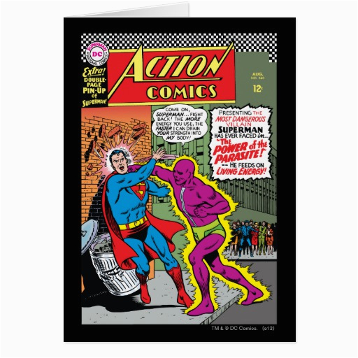 action comics 340 greeting card zazzle