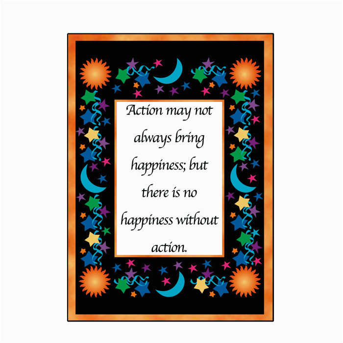 happiness action greeting card serenity superstore by