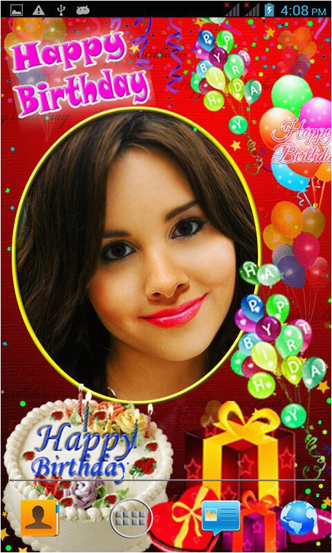 Add Photo In Birthday Cards For Free Make With Android Apps On Google