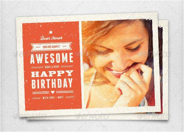 psd birthday card templates