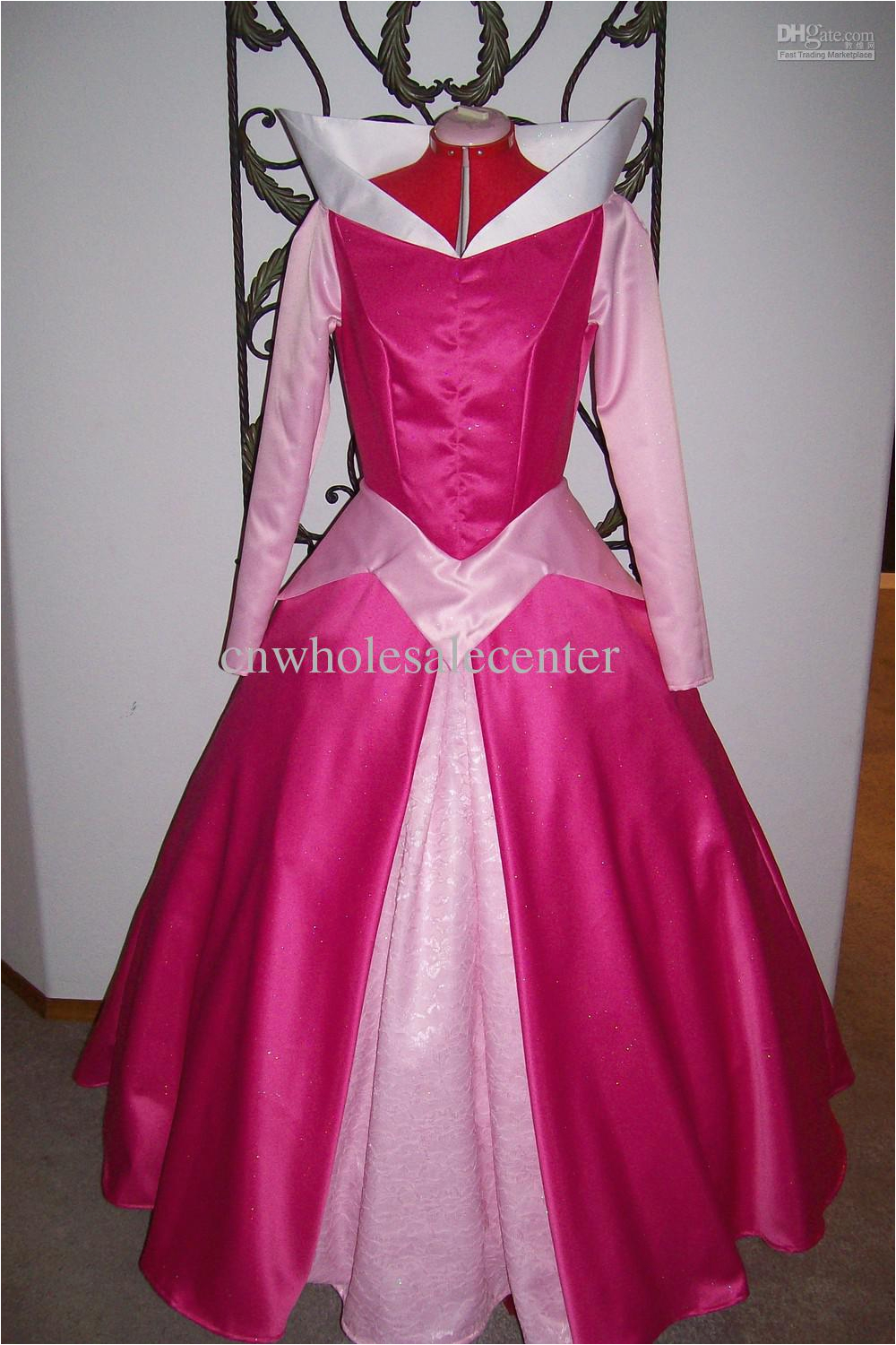 custom made the sleeping beauty dress adult size party