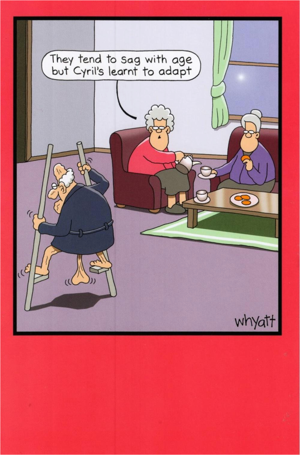 kcuknuts344308 funny sag with age year birthday greeting card traces of nuts humour cards