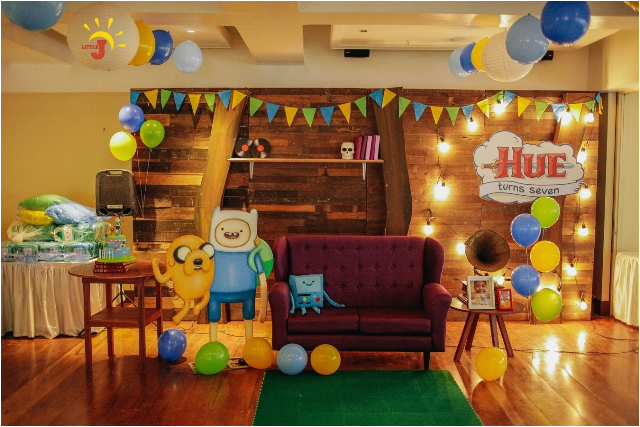 hues adventure time themed party