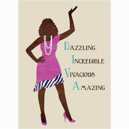 African American Diva Birthday Cards Happy Birthday African American Diva Google Search