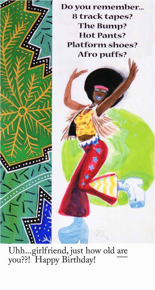Afro American Birthday Cards African American Greeting Cards Birthday Pkg B Ebay