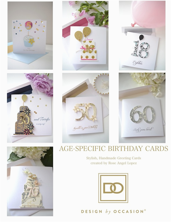 handmade greeting cards design by occasion